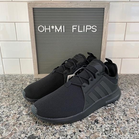 Adidas Xplr Triple Black Mens Sneakers